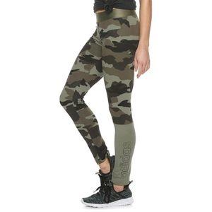 Adidas Camo Print Leggings